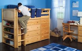 Brilliant 3 Reasons To Consider A Loft Bed For Your Child The Bedroom  Source Bunk Beds With Dresser Built In Decor