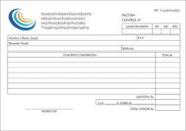 Formatos De Factura Formatos De Facturas Magdalene Project Org