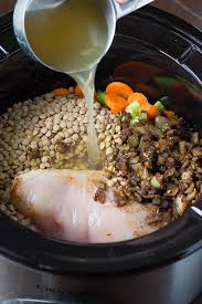 slow cooker en lentil ethiopian stew made with sweet potatoes and carrots
