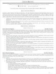 Engineering Resume Templates Word Electrical Engineering Cv Template