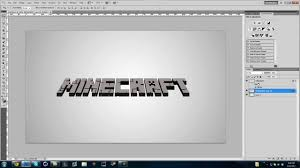 about minecraft 3d font generator