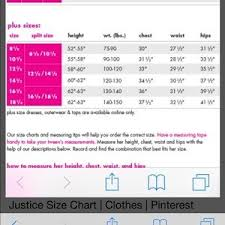 Justice Size Chart Justice Premium Jean Shorts