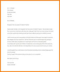 Resignation Letter Teaching Omfar Mcpgroup Co