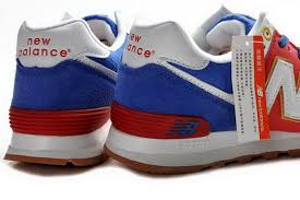 new balance shoes red and blue. latest offers - ml574 women road to london olympic pack blue/red/white the new balance shoes red and blue