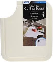Sink With Cutting Board Amazoncom Camco 43859 Sink Mate Cutting Board Almond Automotive
