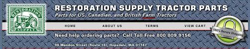 restoration supply john deere 2 cylinder tractor parts restoration supply