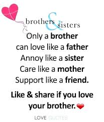 I Love My Brother Quotes Interesting I Love My Brother Quotes And I Love My Big Brother To Make Perfect I