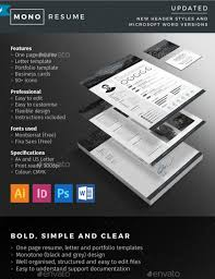 Graphic Resume Templates Adorable 48 Resume CV Templates In Indesign Word PSD Download Designsmagorg