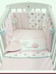 Mothercare Daisy Lane Pretty Baby Girls Cot Bedding Set In