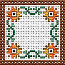 Free Biscornu Charts Mini Biscornu Cross Stitch Pattern