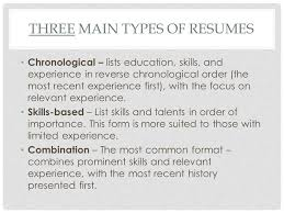 List Of Skills And Talents Creating Resumes What Is A Resume A Resume Is The Summary Of Your