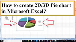 Make A 3d Pie Chart How To Create A 3d Pie Chart In Microsoft Excel