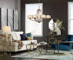 lighting for living room ideas. gold finish lighting and furniture lends sparkle to a living room for ideas g