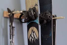 best ski and snowboard wall rack mounts