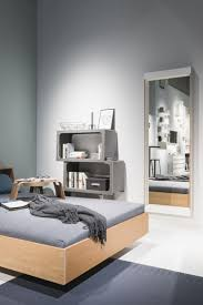 Wandmontierter Spiegel Schlafzimmer Modern Rechteckig Flai