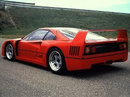The f40 was built to celebrate ferrari's 40th anniversary. Ferrari F40 Competizione Carporn Ferrari F40 Ferrari 288 Gto Ferrari