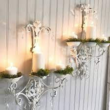 wall candle holder metal wall sconce