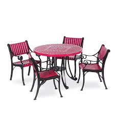 round outdoor patio table table only