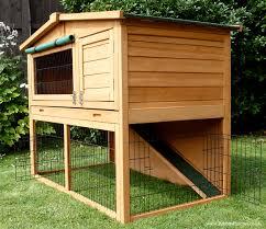 open bottom guinea pig hutch