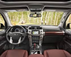4runner limited shown in redwood leather