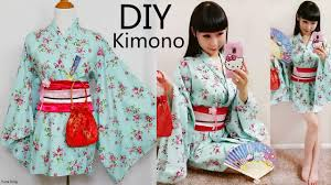 Kimono Robe Pattern Extraordinary DIY Easy KimonoYukata With Easy Pattern DIY Cosplay Costume