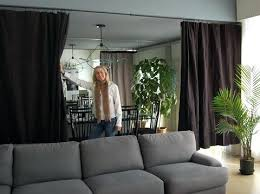 Ceiling Room Dividers Hanging Hanging Curtains From Ceiling As Room Divider  Hanging Curtain Room Divider