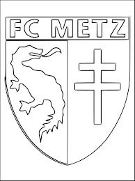Coloriage Foot Metz Imprimer