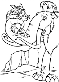Small Picture Ice Age Lifting Pangolin Ice Age Coloring Pages Pinterest