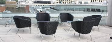 Exterior office furniture london fueradentro luxury outdoor furniture city of london rooftop doble