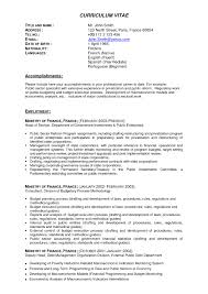 Resume Examples For It Professionals Resume Templates