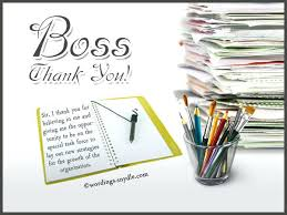 Thank You Note Boss When Leaving Letter Supervisor Notes Systematic ...