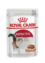 <b>Royal Canin</b> кусочки в соусе для кошек 1-10 лет, <b>Instinctive</b>