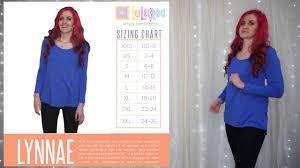 Lularoe Lynnae Sizing Chart