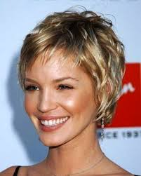 gallery of new ideas short hairstyles for fine hair oval face