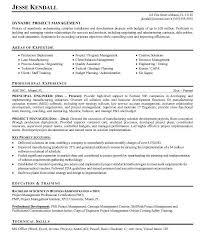 resume sample for project manager com resume sample for project manager