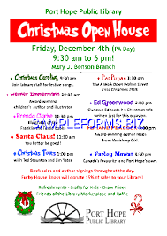christmas open house flyer christmas open house flyer pdf free 1 pages