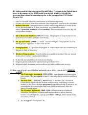 social welfare essay marie julme hus prof fattibene social  6 pages