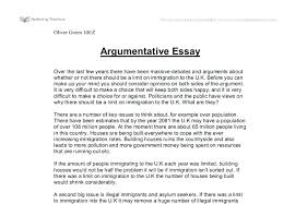 a argumentative essay argumentative essay thesis statement  a argumentative essay example of argumentative essays 7 academic argument essay examples example essay writing argumentative