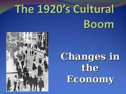 1920s Changes In The Economy Powerpoint U S History Social