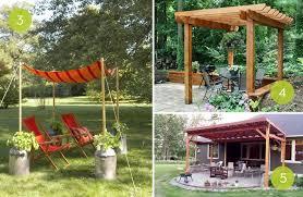 roundup 10 beautiful diy backyard shade projects curbly diy outdoor shade canopy