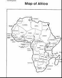 Africa Coloring Pages Remarkable Africa Map Coloring Page With