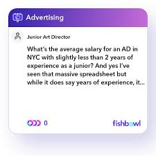 what s the average salary for an ad in