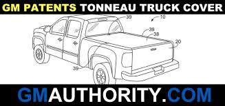 GM Patent New Truck Tonneau Cover With Built-In Divider Flap | GM ...