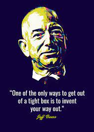 Jeff Bezos Quotes' Poster by Dicky ...