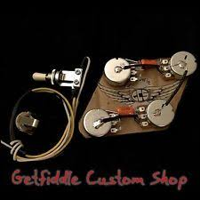 gibson wiring harness guitar gibson epiphone 50s wiring harness bourns pots 022uf 015 cap es 335 339