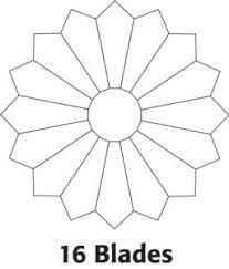 Dresden Plates: Advice and Tutorial - The Quilting Company & Example: If one blade is 18º, 360º divided by 18º equals 20. You'll make 20  blades for a complete circle or Dresden Plate if the blades are each 18º. Adamdwight.com