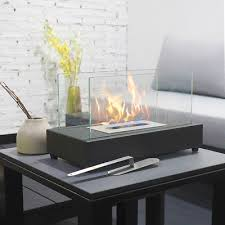 rectangle tabletop bio ethanol fireplace indoor outdoor fire pit portable