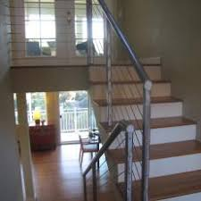 Metal railing stairs Cheap Modern Loft Stairs With Metal Railing Centralparcco Photos Hgtv