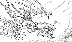Ninjago Attack Coloring Pages For Kids Printable Free Lego