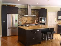 Espresso Shaker Cabinets Espresso Shaker Kitchen Cabinets Of Kitchen Decoration Ideas With